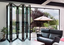 Black-aluminium-bifold-interior-view