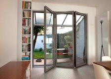 Grey-aluminium-bifold-door